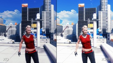 Mirror's Edge: Xbox One Back-Compat vs Xbox 360 Частота кадров (DigitalFoundry)