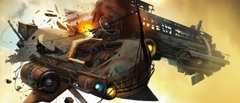 Много геймплея Worlds Adrift из альфа-версии