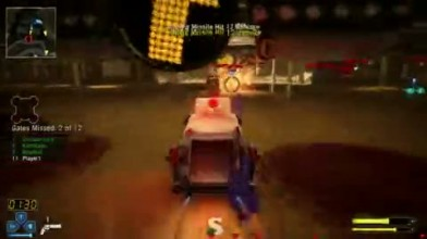 "Twisted Metal ""Grimm Battle Race Gameplay"""