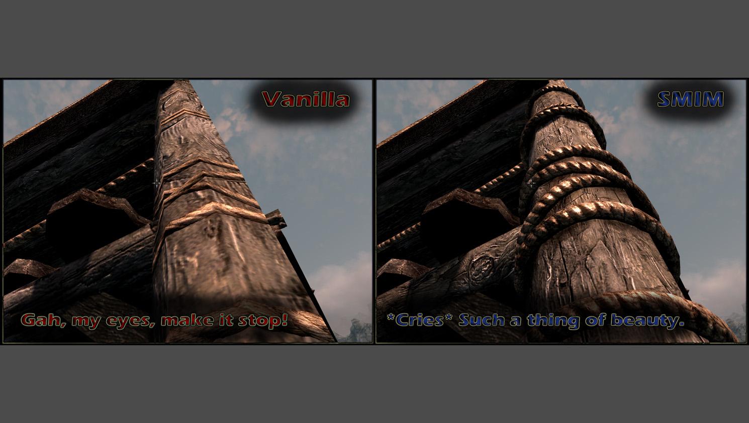The elder scrolls v: skyrim special edition game mod static mesh.