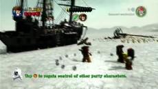 """LEGO Pirates of the Caribbean """"Джек Воробей геймплей"""""""