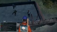 """Dayz """"Хулиганы загнали парня на крышу школы"""""""