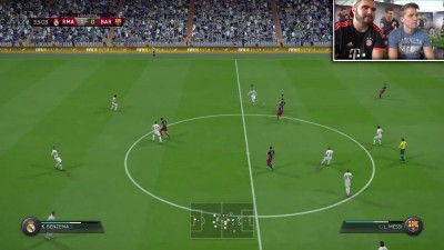 "FIFA 16 ""Геймплей REAL MADRID VS FC BARCELONA - XBOX ONE"""