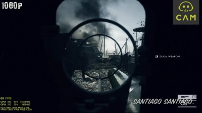 Battlefield 1 Single Player GTX 750 ti - i3 (Simulated) - 1080p - 900p - 720p - Campaign
