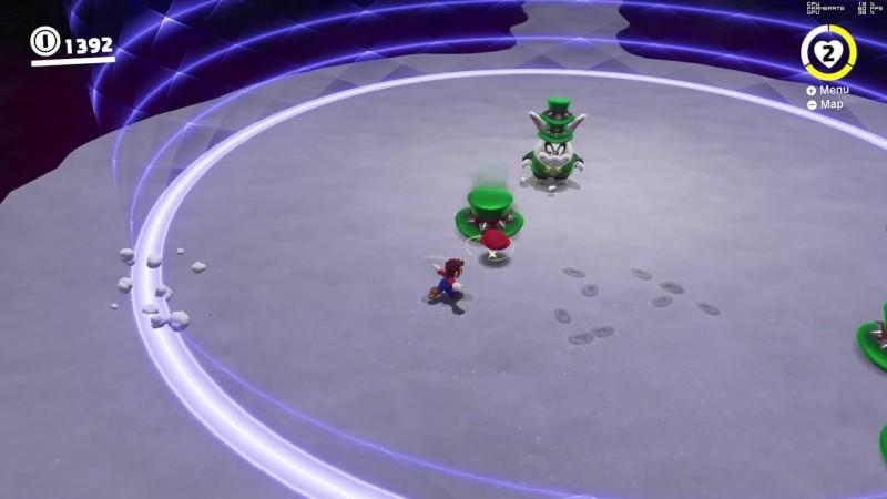 Super Mario Odyssey в 8K