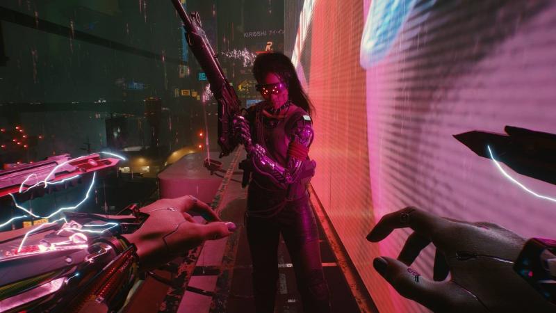 Перестрелки, апартаменты Ви и настройки игры - новые сливы Cyberpunk 2077