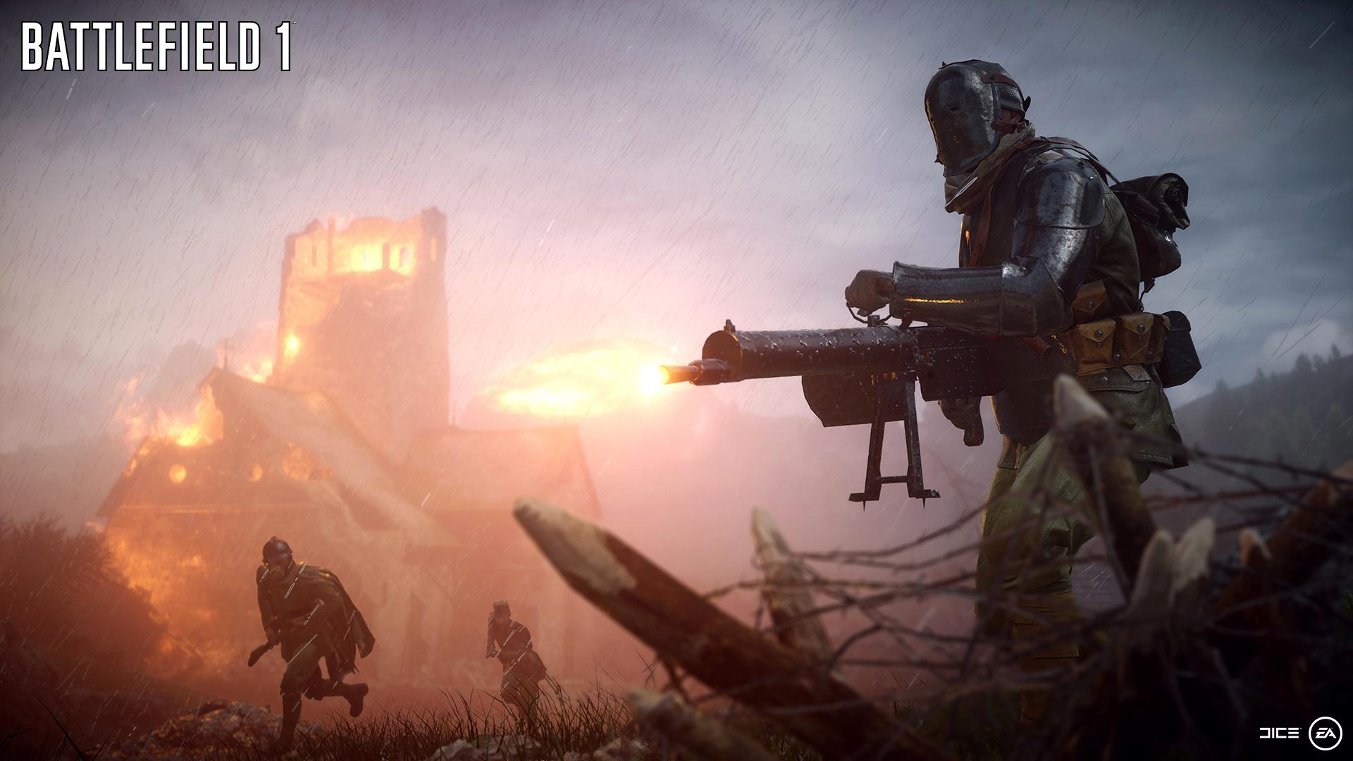 EAназвала дату старта бета-тестирования Battlefield 1