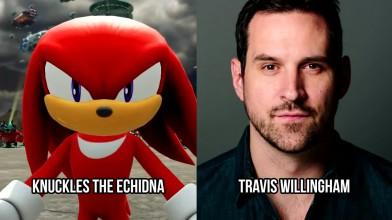 Кто кого озвучивал в - Sonic Forces