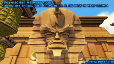 Crash Bandicoot 3 Warped - Получение трофея The Riddle of the Sphynx.