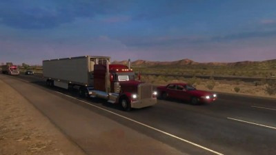 American Truck Simulator World Rescale