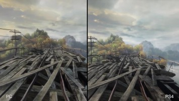 "The Vanishing of Ethan Carter ""Сравнение PS4 vs Original PC"""