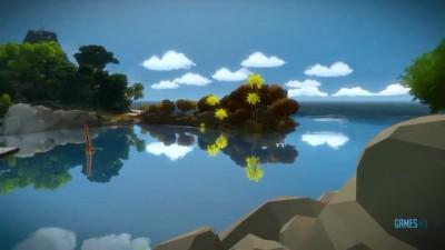 "The Witness ""Геймплей (PS4)"""