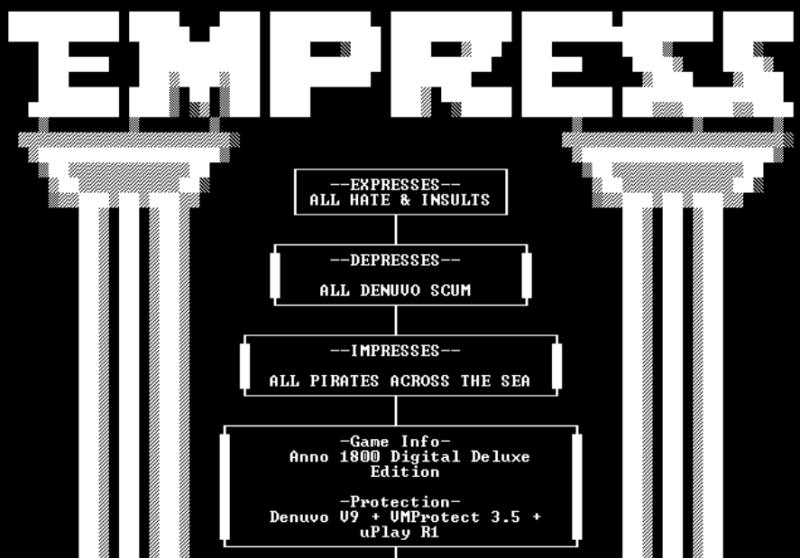 EMPRESS взломала Anno 1800 и выпустила новый крякфикс для Zombie Army 4