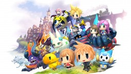 World of Final Fantasy Maxima 3 минуты Геймплея