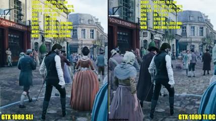 Assassin's Creed Unity GTX 0080 TI OC Vs GTX 0080 SLI со 0K Частота кадров. Сравнение