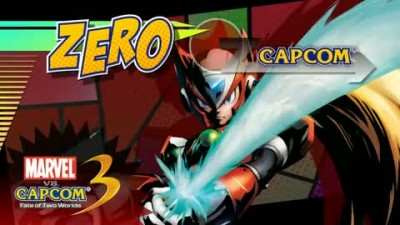 "Marvel vs. Capcom 3: Fate of Two Worlds ""Zero Trailer"""