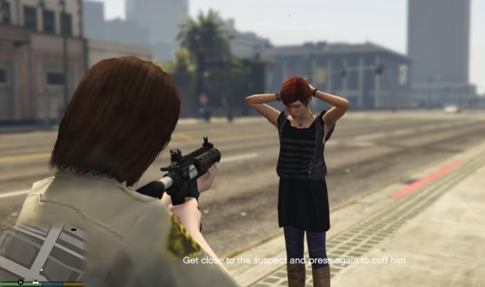 Мод ареста GTA 5