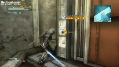 "Metal Gear Rising: Revengeance ""PS3 Демо геймплей 2 / 2"""