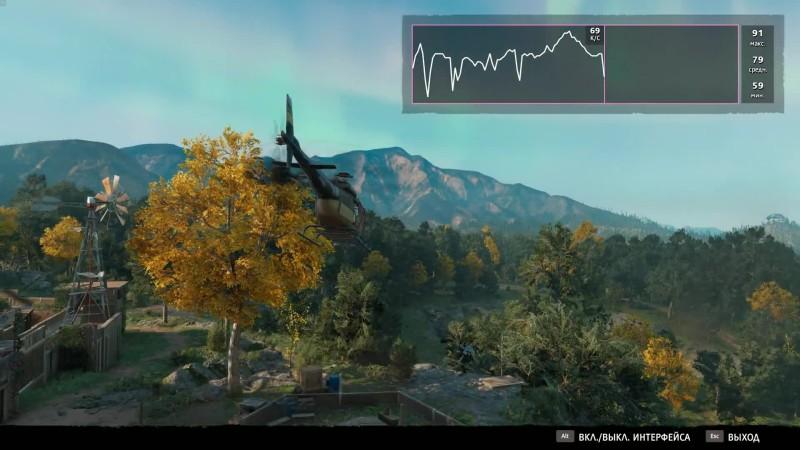 Far Cry New Dawn тестовый отрезок