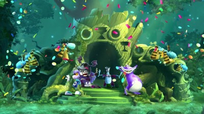 Rayman Legends: Definitive Edition - Хэллоуин-трейлер