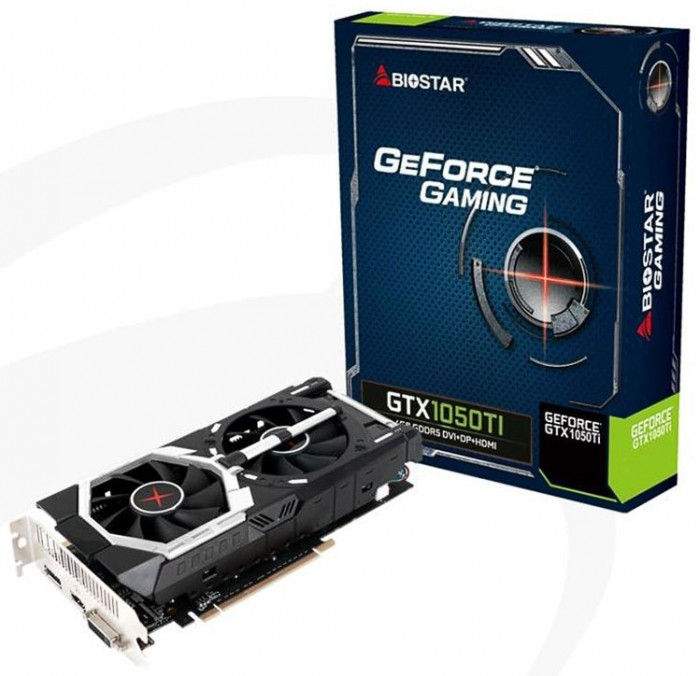 Biostar GeForce GTX 1050 Ti VN1055TF41/Dual Cooling