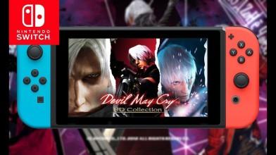 Новый трейлер Devil May Cry для Nintendo Switch
