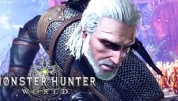 За Геральта уже можно сыграть в Monster Hunter: World