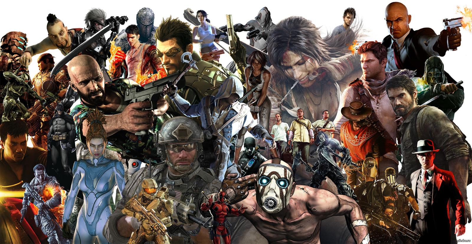 Картинки из разных игр