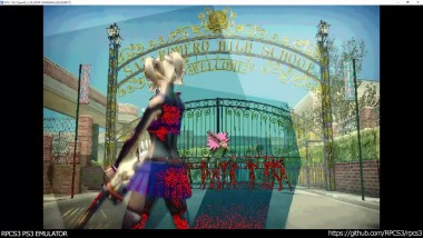 RPCS3 PS3 Emulator - Lollipop Chainsaw Ingame! OGL (2b79a369)