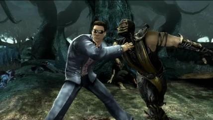 Mortal Kombat Аренные фаталити над Скорпионищем