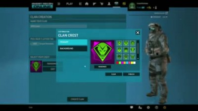 "Tom Clancy's Ghost Recon Online ""Introducing Clans"""