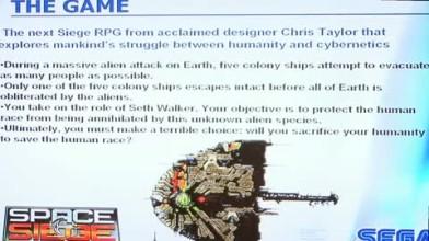 """Space Siege """"CES 2008 Presentation"""""""