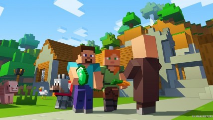 Супер-дюпер Minecraft в 0К на новом Xbox X
