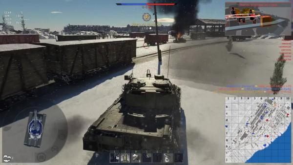лучшие танки 5 ранга в вар тандер