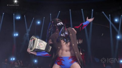 WWE 2K17 - Finn Balor's Full Ring Entrance