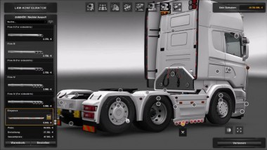 "ETS 2 ""Scania R-4 series addon for RJL Scanias v2.2"""