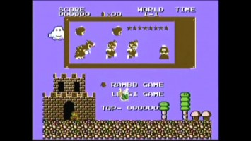 Super Mario 4 Rambo (NES Video Game) with James Rolfe (AVGN) & Mike Matei