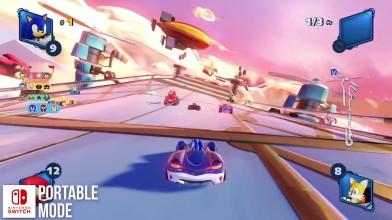 Технический анализ Team Sonic Racing