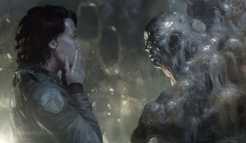 """Опубликованы новые концепт-арты отменённого фильма """"Чужой 5"""""""