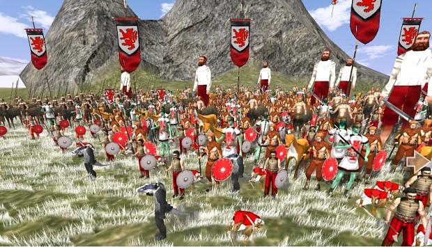 A Narnian Army