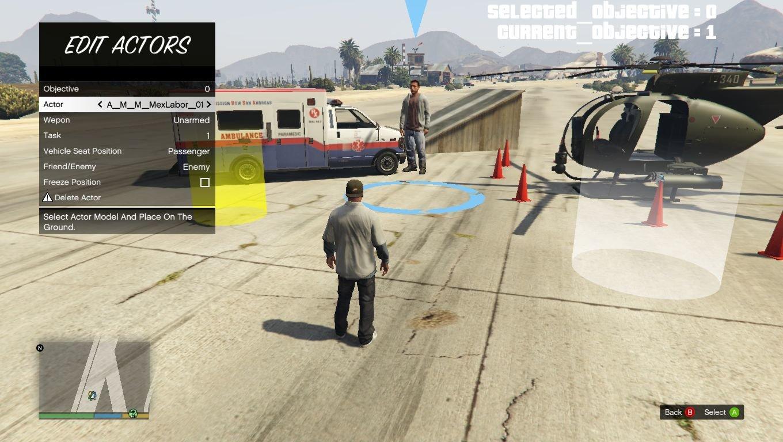 """Grand Theft Auto 5 """"Построй свою миссию"""" - Файлы - патч, демо, demo, моды, дополнение, русификатор, скачать бесплатно"""