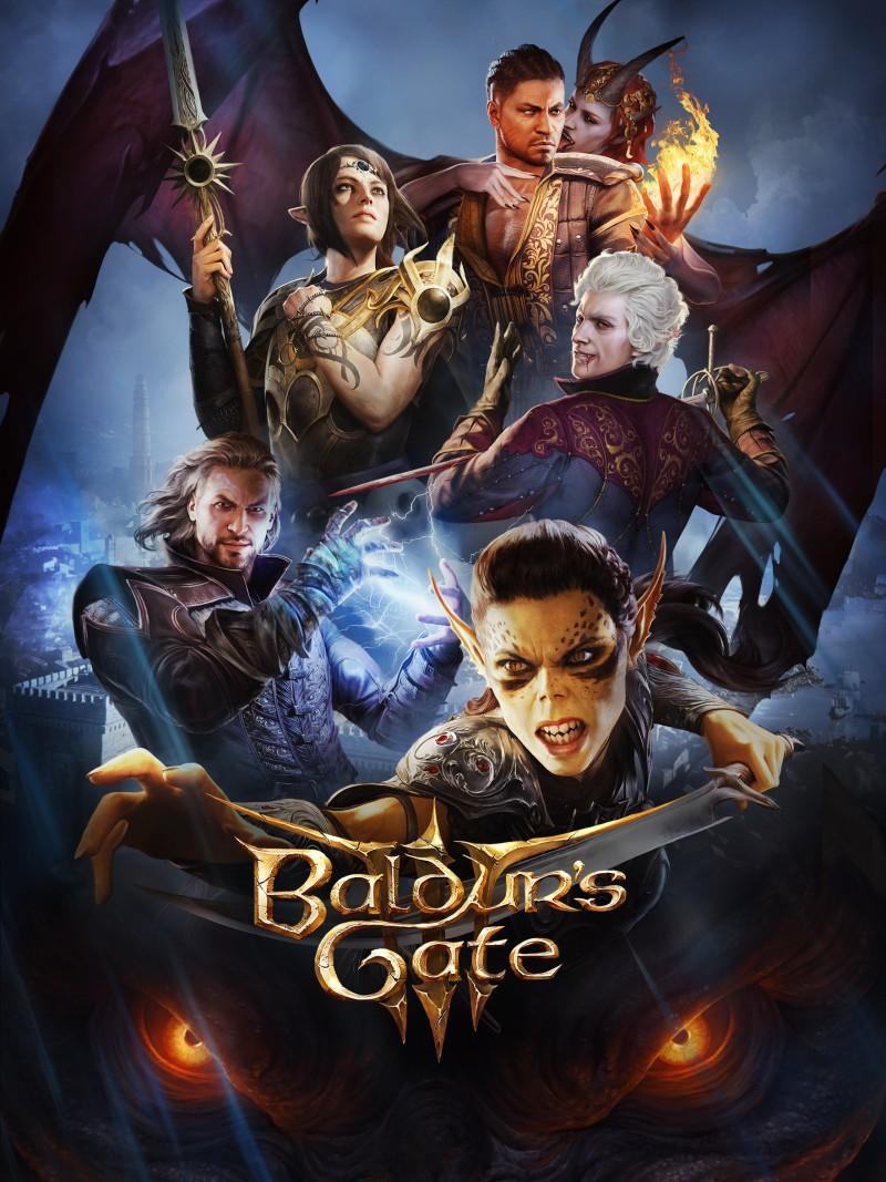 Официальные арты компаньонов из Baldur's Gate 3