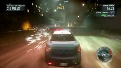 "Need For Speed: The Run ""E3 2011 Gameplay"""