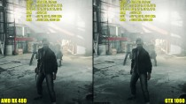 Quantum Break DX11 GTX 1060 Vs AMD RX 480 Частота кадров