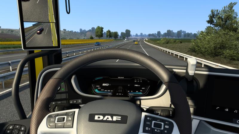 В игру добавлены совершенно новые DAF XG и XG+
