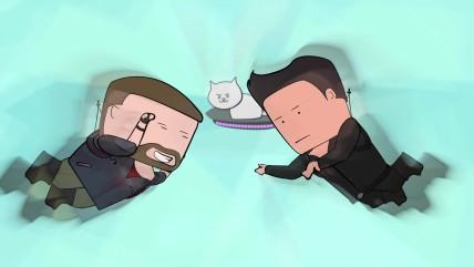 Уэс и Флинн Играют в Just Cause 0 [s02e08]