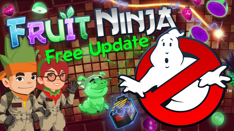 Трейлер Fruit Ninja - Ghostbusters