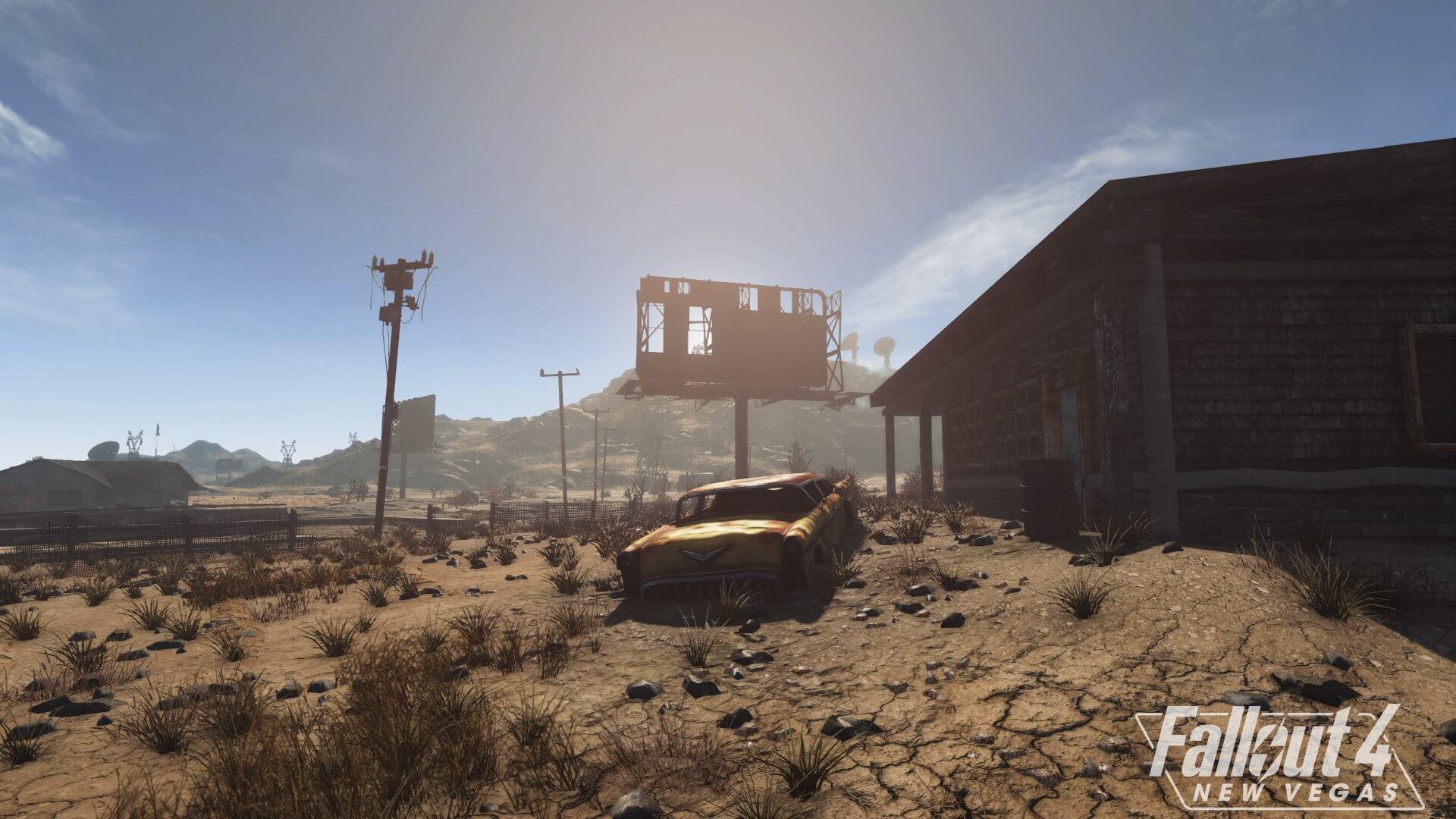 Два новых скриншота модификации Fallout 4: New Vegas