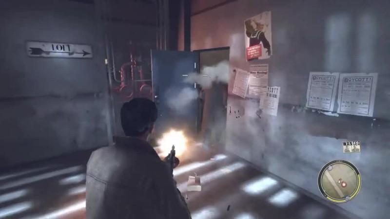 Mafia II - Что будет, если догнать и убить бриолинщика в главе