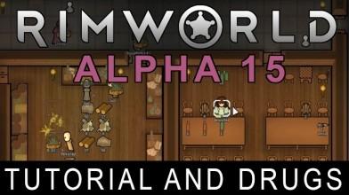 В RimWorld добавили туториал и наркотики